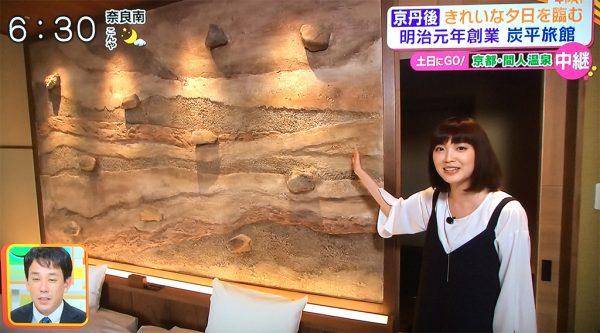 新和洋室「悠千-yu-sen-」壁面