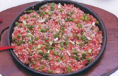 キャスト ここよりおいしいアレ アキナ 7月24日 幸福食堂 ゲランチム 豚軟骨焼き