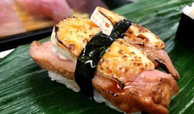 スマステーション フォトジェニックグルメ 写真 うなぎバター じねん 寿司