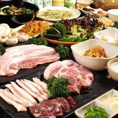 キャスト ここよりおいしいアレ アキナ 鶴橋 8月7日 みんがね サムギョプサル食べ放題
