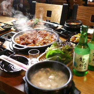 キャスト ここよりおいしいアレ アキナ 鶴橋 8月7日 焼肉 おかわり おかわりセット スンドゥブチケ