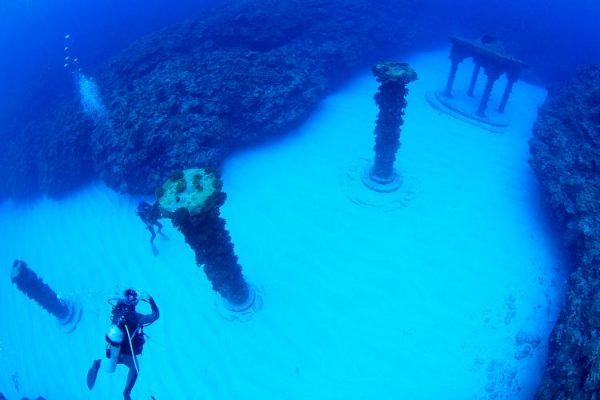 沸騰ワード10 沸騰島 与論島 鹿児島 海底神殿