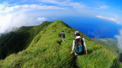 ヒルナンデス 八丈島 リゾート 絶景 天空ロード 八丈富士 天空の道 西山