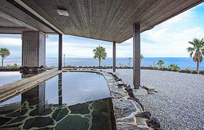 ヒルナンデス 八丈島 リードパークリゾート八丈島 リゾートホテル 星空 太平洋 露天風呂