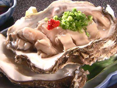今ちゃんの実は 浅越ゴエ 県民メシ 8月9日 石川 加賀料理 佐助 岩牡蠣