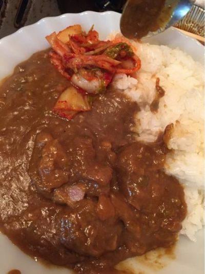 松本家の休日 十三 しょんべん横丁 和牛専門焼肉 珍牛 〆の珍牛カレー