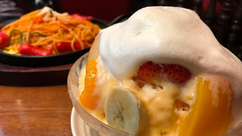 千成屋 新世界 ミックスジュース発祥 元祖 再開 オープン フルーツパーラー ミックスジュースフラッペ かき氷