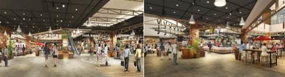 イオンモール神戸南 全面開業 オープン 新店 関西初出店 Food Forest フードコート キャナルマルシェ神戸うまいち