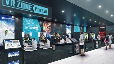VR ZONE Portal ブイアールゾーンポータル 神戸 イオンモール神戸南 namco VRアクティビティ体験施設 国内1号店 関西初 混雑 料金