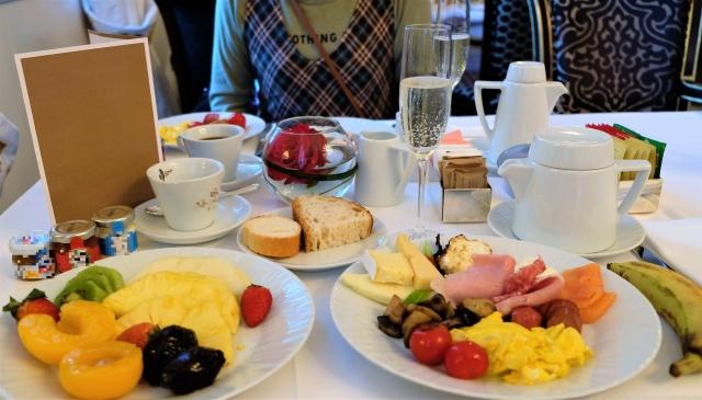 おはよう朝日 ホテルブッフェ
