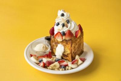 ヒルナンデス 売り切れグルメ J.S. PANCAKE CAFE ジェイエスパンケーキ チーズケーキクリームフレンチトースト