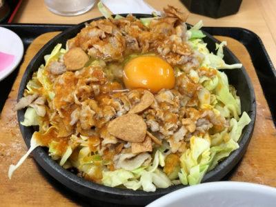 スマステーション スタミナ飯 9月2日 大盛軒 東中野 鉄板麺