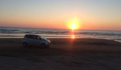 道の駅 スマステーションで紹介 能登 砂浜 夕陽 ドライブ