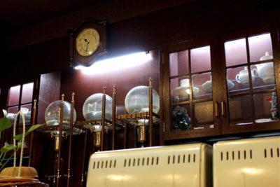 キャスト ここよりおいしいアレ アキナ 10月23日 京都市中央卸売市場 コーヒー2軒目