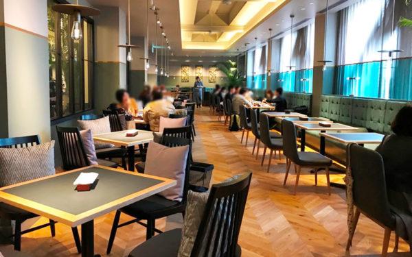 ミライザ大阪城 オープン レストラン クロスフィールド with テラスラウンジ イタリアン