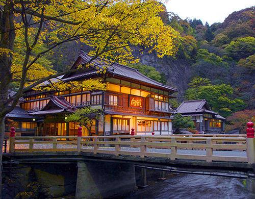 会津東山温泉 向瀧 登録有形文化財