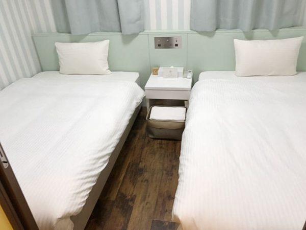 パームガーデン舞洲 トレーラーハウス ベッドルーム