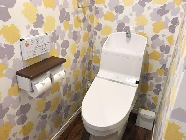 パームガーデン舞洲 トレーラーハウス トイレ ウォッシュレット