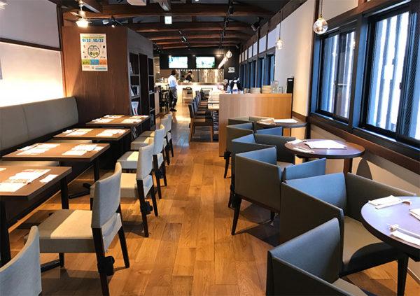 SVB京都 2階 店内 内観
