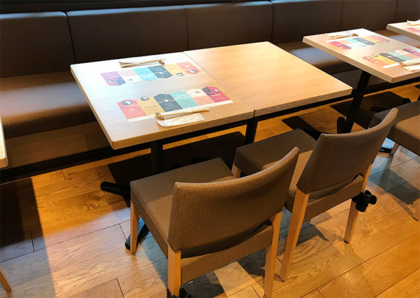 SVB京都 2階 テーブル席