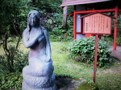 御座石神社 たつ子姫