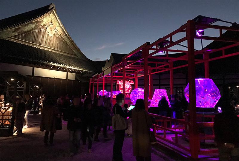 アートアクアリウム京都 2017 二条城 会場