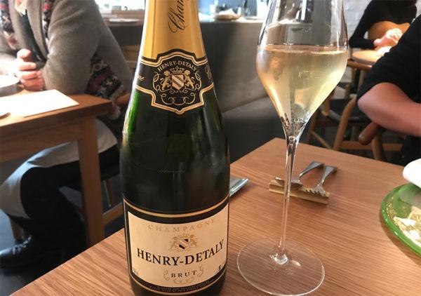 シャンパン HENRY-DETALY BRUT アンリ デタリー ブリュット