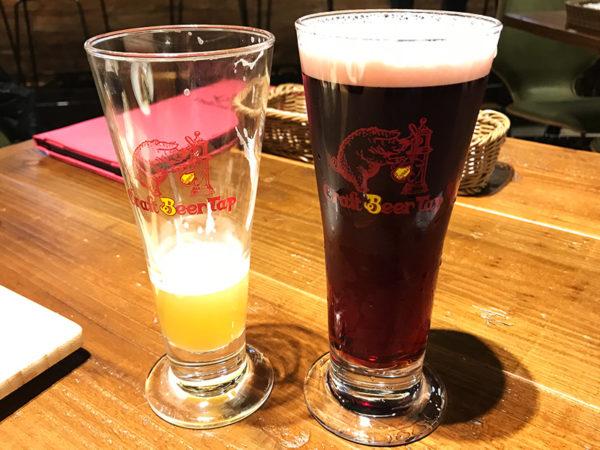 樽生クラフトビール サイズ比較