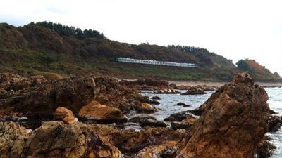 JR五能線 日本海 絶景