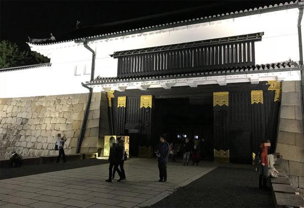 アートアクアリウム京都 2017 二条城 閑散