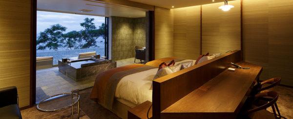 THE HIRAMATSU HOTELS & RESORTS 熱海 客室 温泉付き
