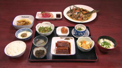 農家民宿 津嘉山荘 夕食
