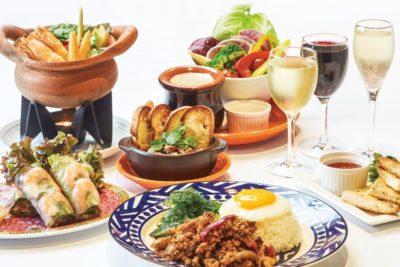 ルクア大阪 バルチカ リニューアル 店舗一覧 アガリコ オリエンタル・ビストロ アジア料理