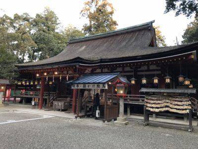 奈良 石上神社 本殿
