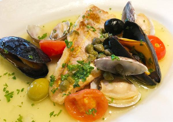 メイン 魚料理 アクアパッツァ