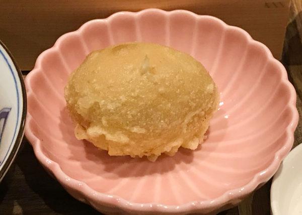 ルクア大阪 バルチカ 天ぷら 喜久や 味玉天ぷら