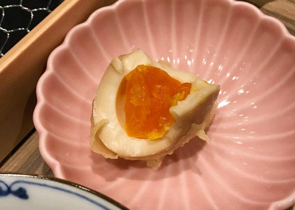 ルクア大阪 バルチカ 天ぷら 喜久や 味玉天ぷら 人気五品
