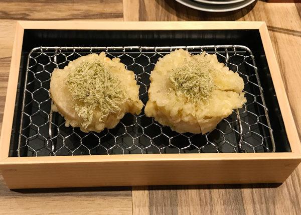 ルクア大阪 バルチカ 天ぷら 喜久や 大根