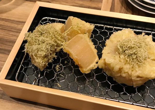 ルクア大阪 バルチカ 天ぷら 喜久や 大根 人気五品