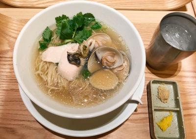 銀座 篝 蛤と牡蠣 汐SOBA ラーメン