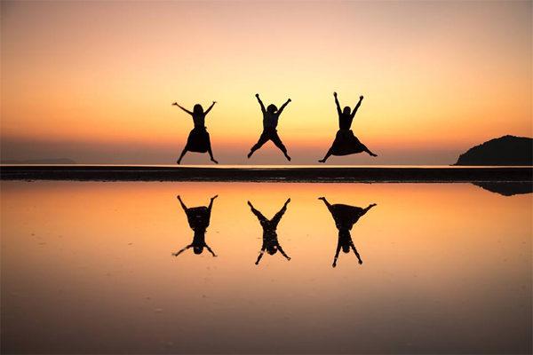 ちちんぷいぷい 絶景散歩 ウユニ塩湖 瀬戸内 香川 天空の鏡