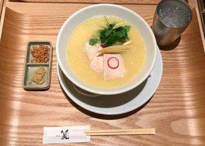 銀座篝 鶏白湯SOBA ラーメン