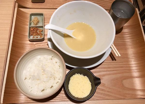 鶏白湯SOBA 〆 リゾット