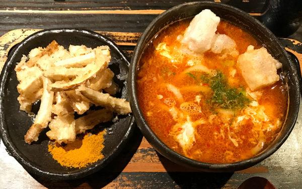 香山元麺蔵 味油の赤い麺蔵スペシャル