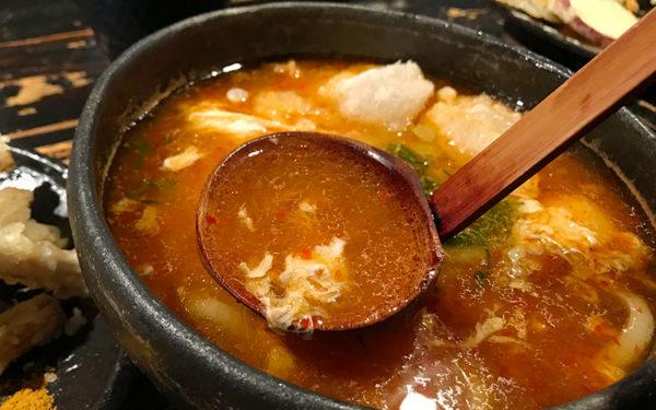山元麺蔵 香味油の赤い麺蔵スペシャル 出汁 スープ