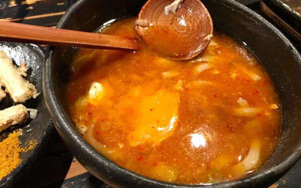香味油の赤い麺蔵スペシャル 卵