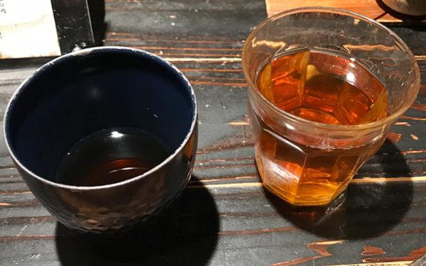 温かいお茶 冷たいお茶