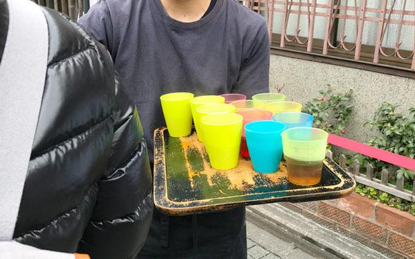 京都 うどん 山元麺蔵 お茶サービス