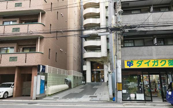 コートホテル京都四条 外観