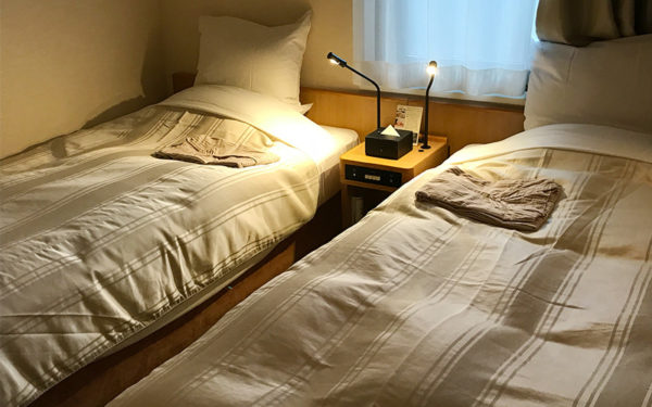 コートホテル京都四条 デラックスツインルーム